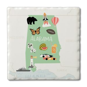 Square Coaster Gift Set Northpoint Turtle Conimar Group