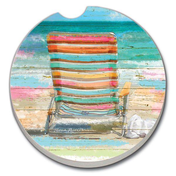 Car Coaster 1Pk - Beach Daze