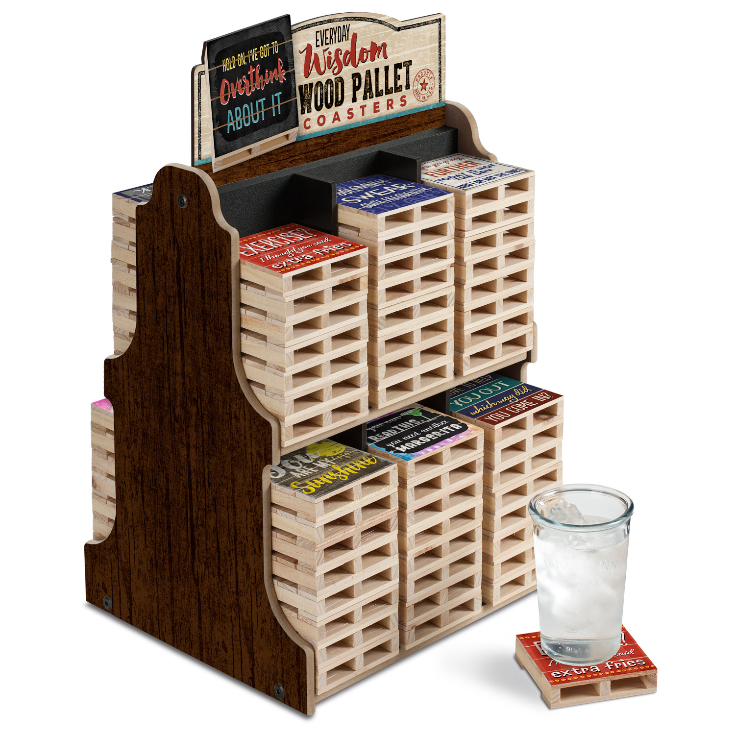 Pallet Coaster Collection - Everyday Wisdom